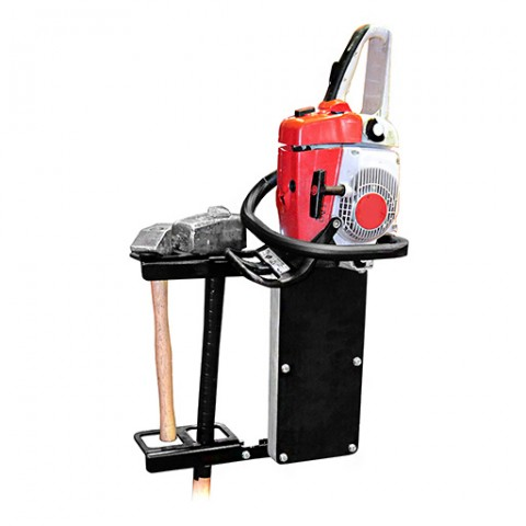 Chainsaw and axe holder